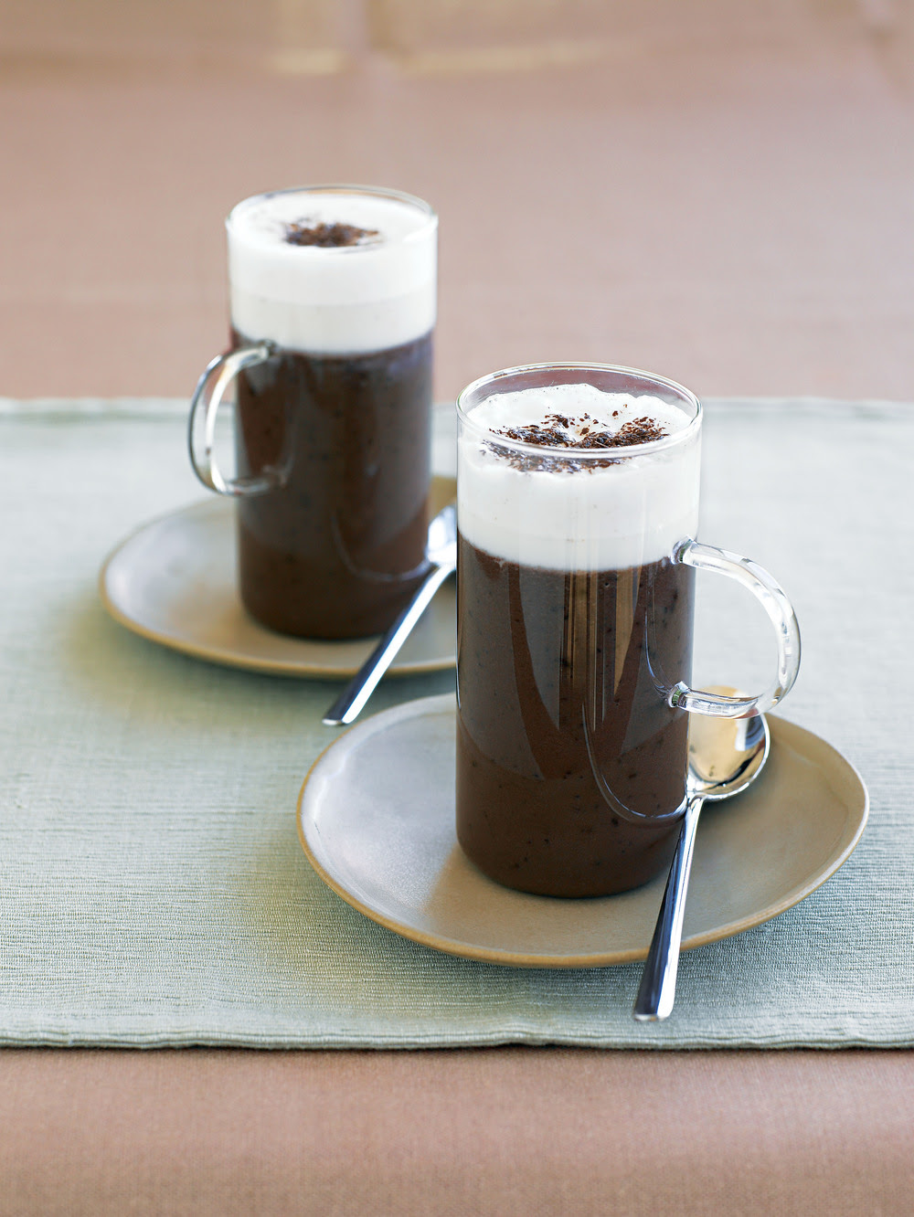 Frothy Hot Toddy Chocolate Drink recipe