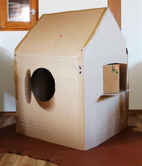 kinderhaus aus pappe diy ideen auf frauscheinerde