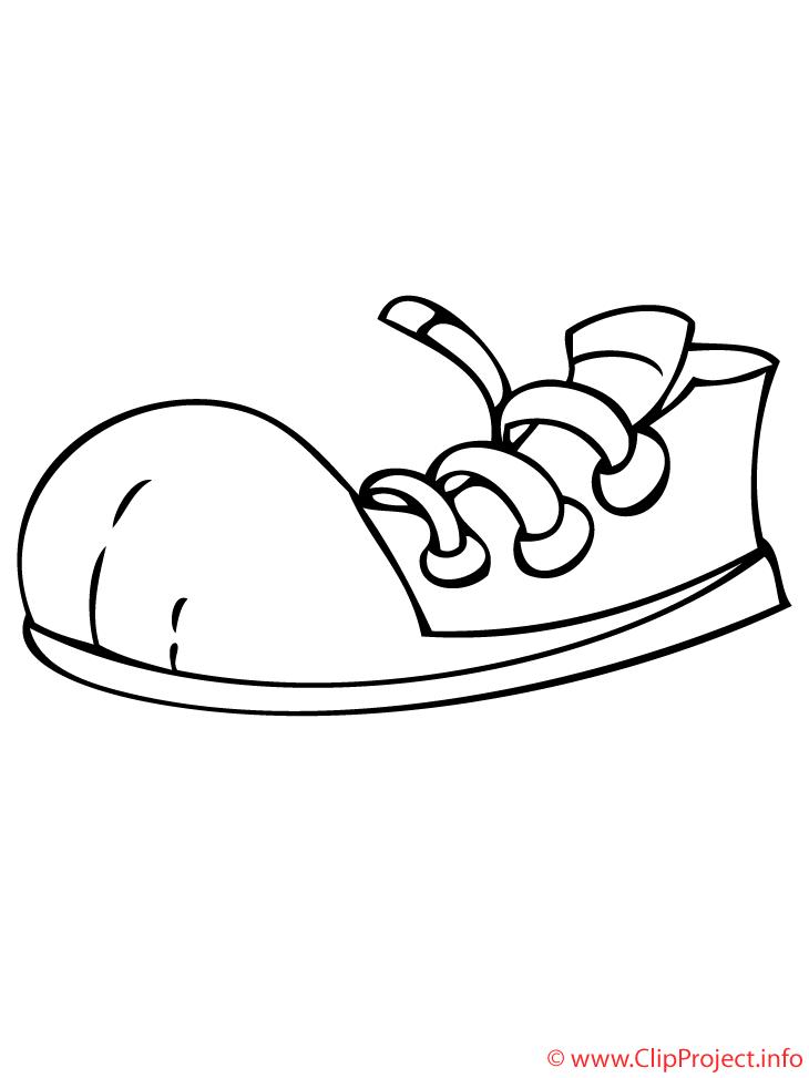 Les De Picture Mode Coloriage Dessin Coloriages Chaussures Sport