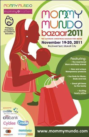 Mommy Mundo bazaar 2011