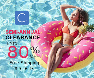 Semi-Annual Clearance!Up to 80% Off!