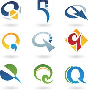 stylish logo  vector    vector