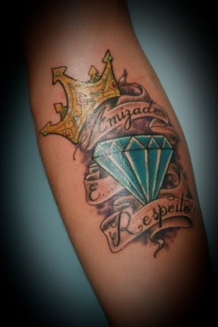 Crown Diamond Tattoo