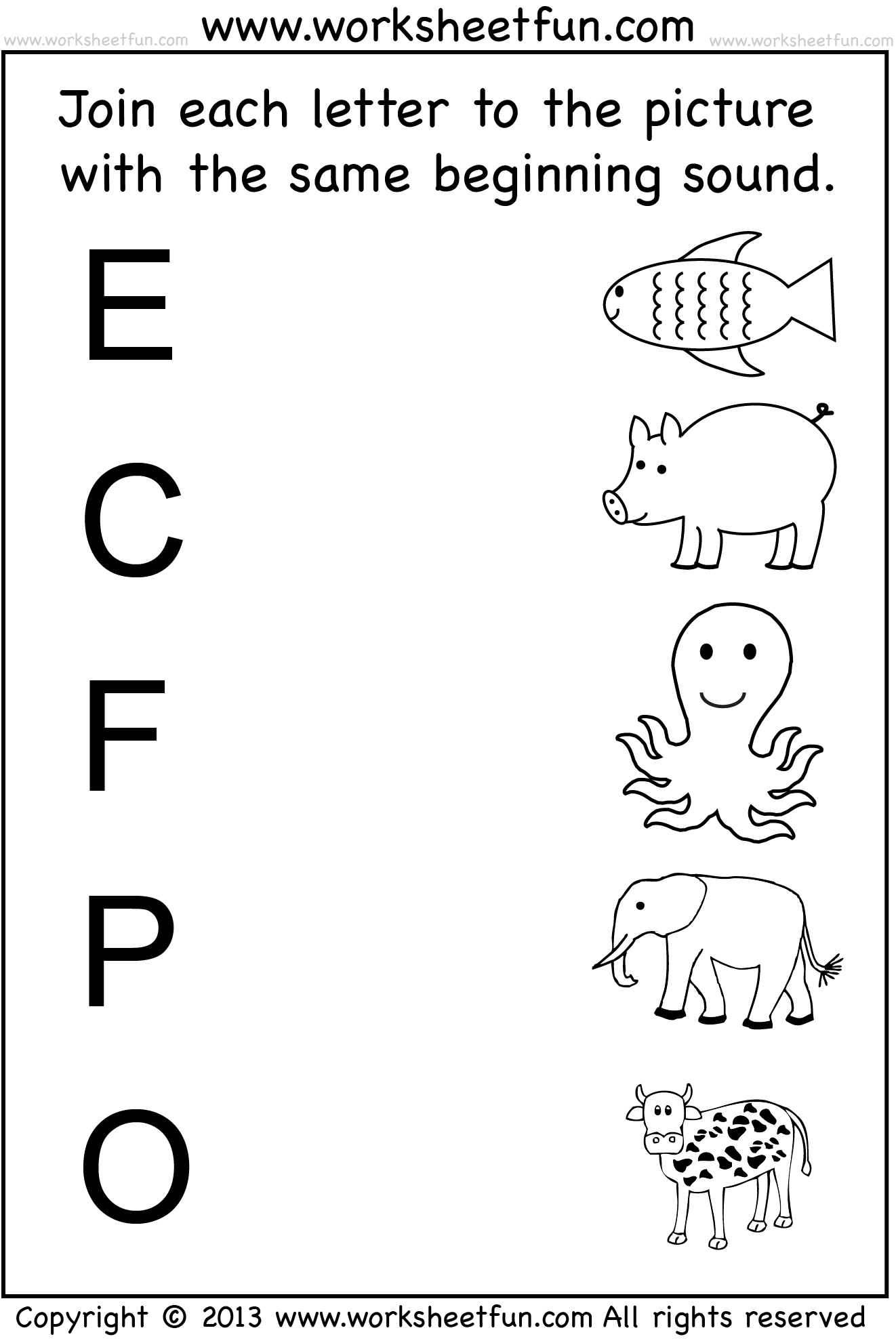 Kindergarten Worksheets \/ FREE Printable Worksheets – Worksheetfun