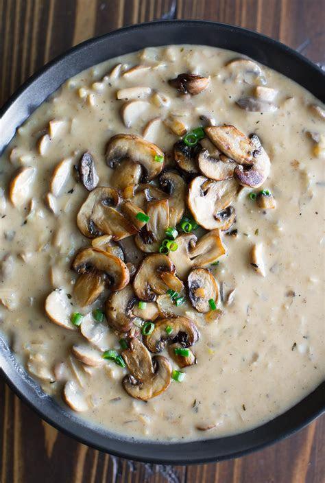 creamy mushroom soup recipe peas  crayons