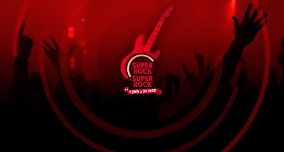 Super bock Super rock festival 2013 line up