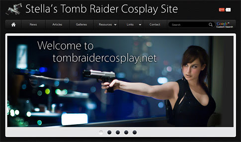 Stella's Tomb Raider Cosplay Site