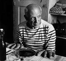 Pablo Picasso por Doisneau