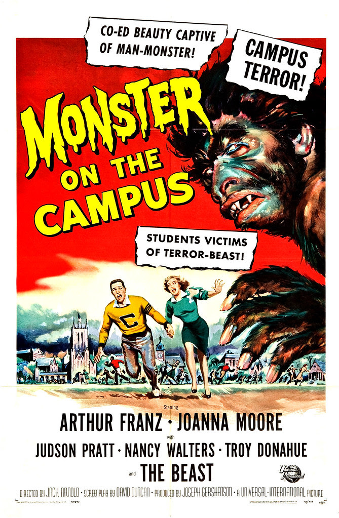 Reynold Brown - Monster on the Campus (Universal International, 1958)