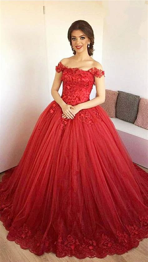 25  best ideas about Red ball gowns on Pinterest   Ball