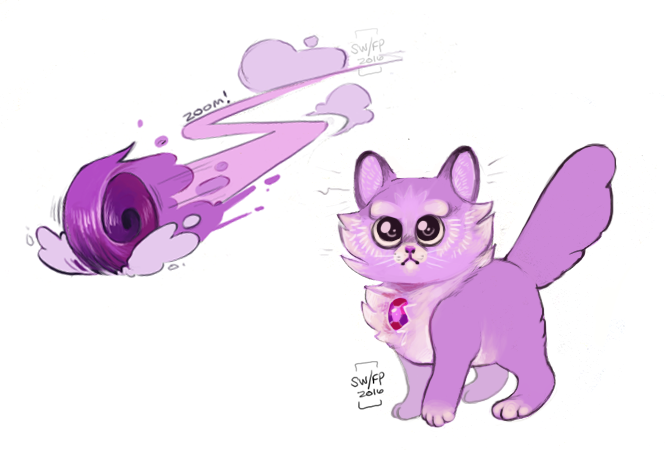 Amethyst Dump :D I love smol purple
