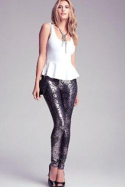 Bebe Fishnet Lace Leggings