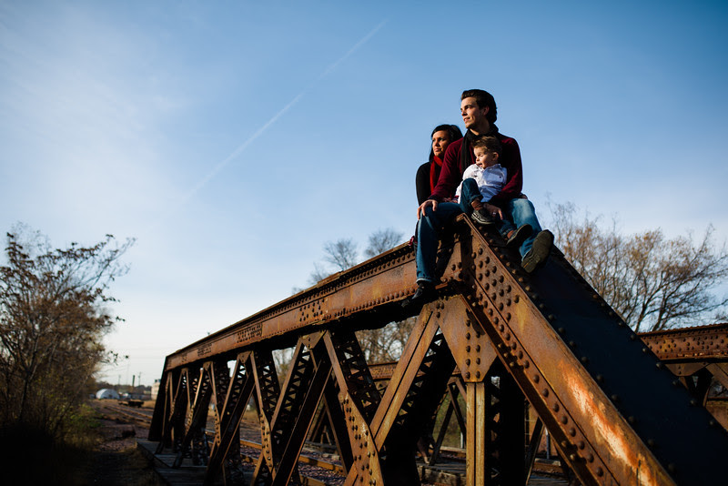 A Family photo session that has a fun and creative twist at the spooky Tinker Swiss Cottage in beautiful fall weather. We then ventured off towards old tunnels and train tracks.