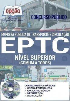 Apostila Concurso Público EPTC 2016 Impressa NÍVEL SUPERIOR (COMUM A TODOS)