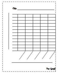 Blank Bar Graph Template... | Great ideas for class | Pinterest ...