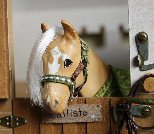 Green & Brown headcollar
