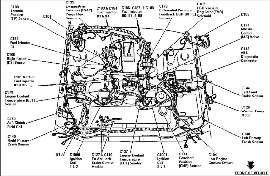2002 Subaru Outback Exhaust Diagram