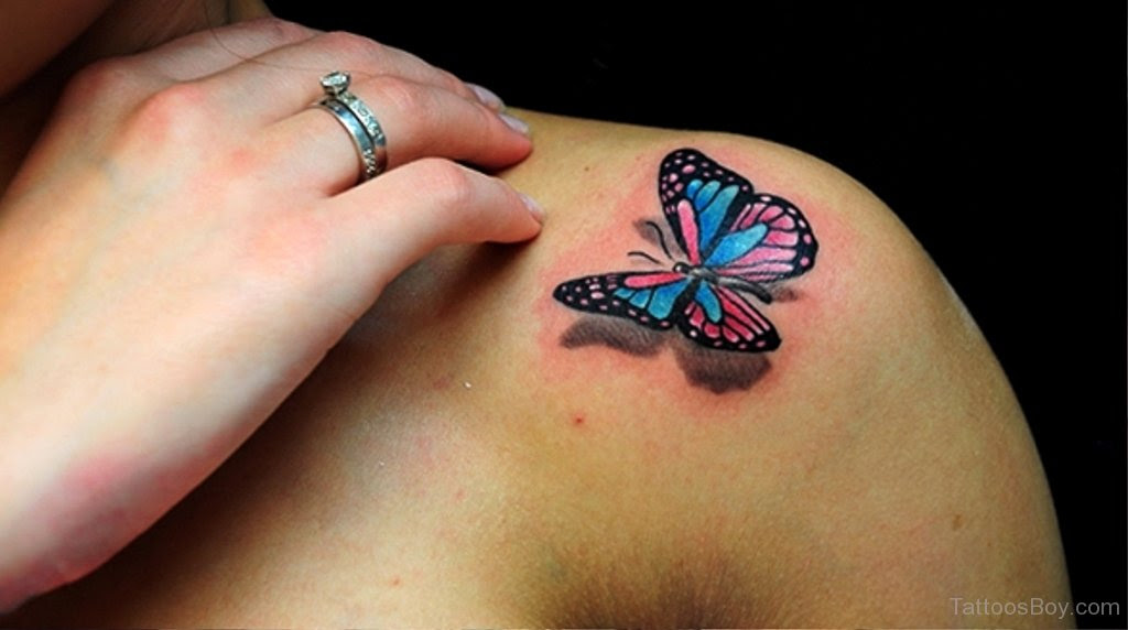Awesome Butterfly Tattoo On Shoulder Tattoo Designs Tattoo Pictures