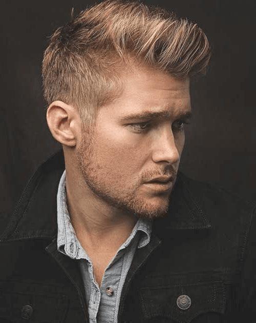 männer frisuren 2020 kurz ohne übergang - jeffrey parker