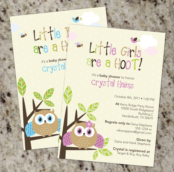 Chloes Inspiration Owl Themed Baby Shower Celebrate Decorate