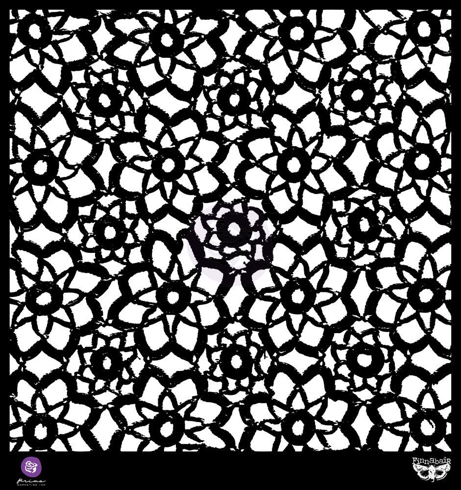 Prima 12x12 Stencil Lace Pattern