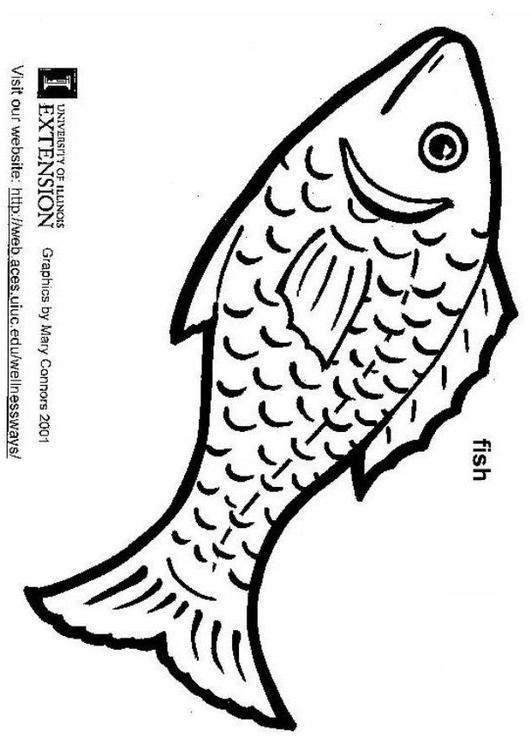 Dibujo Para Colorear Pescado Img 5803