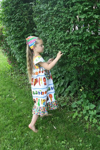 Very Hungry Caterpillar dress