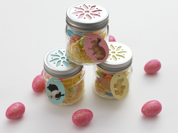 Whitehouse Crafts Mini Jar Easter Treats