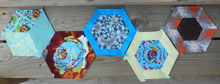 first set of hexies for the HAL