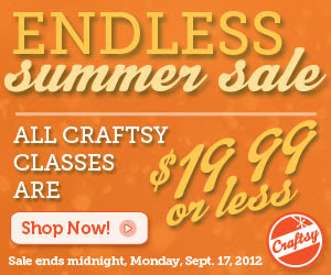 Craftsy's Endless Summer Sale