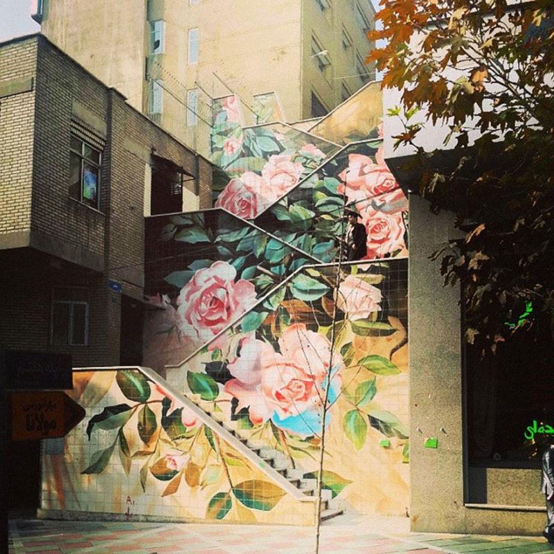 17 escadarias com as mais belas decorações urbanas do mundo 17