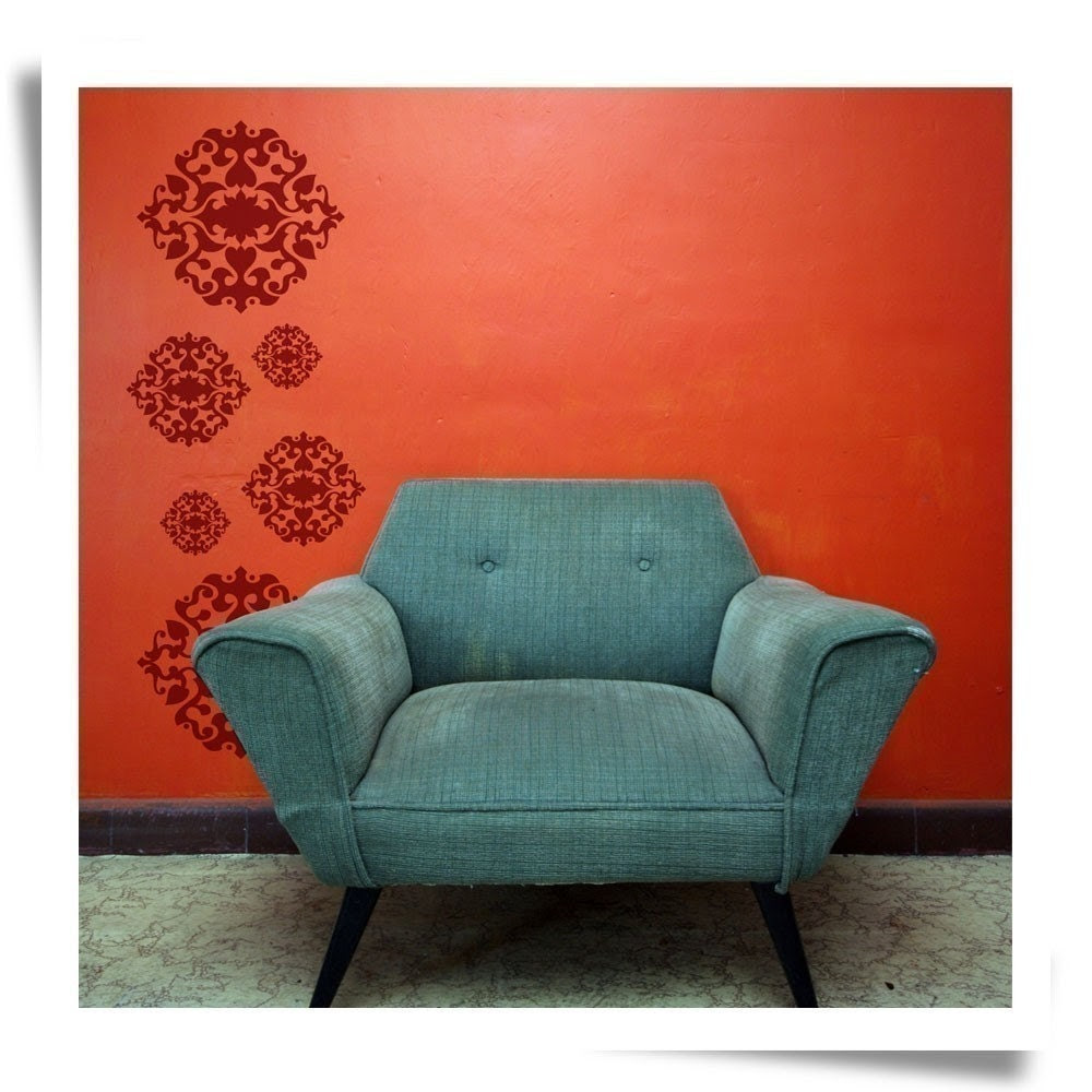 Opulent wall graphic