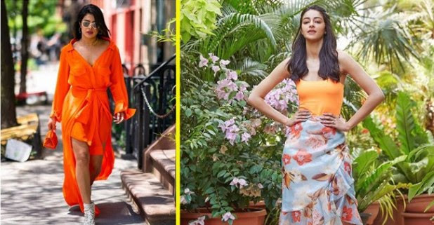 From Ananya Panday to Alia Bhatt, Film Stars Looking Gorgeous in Orange Outfits this Monsoon