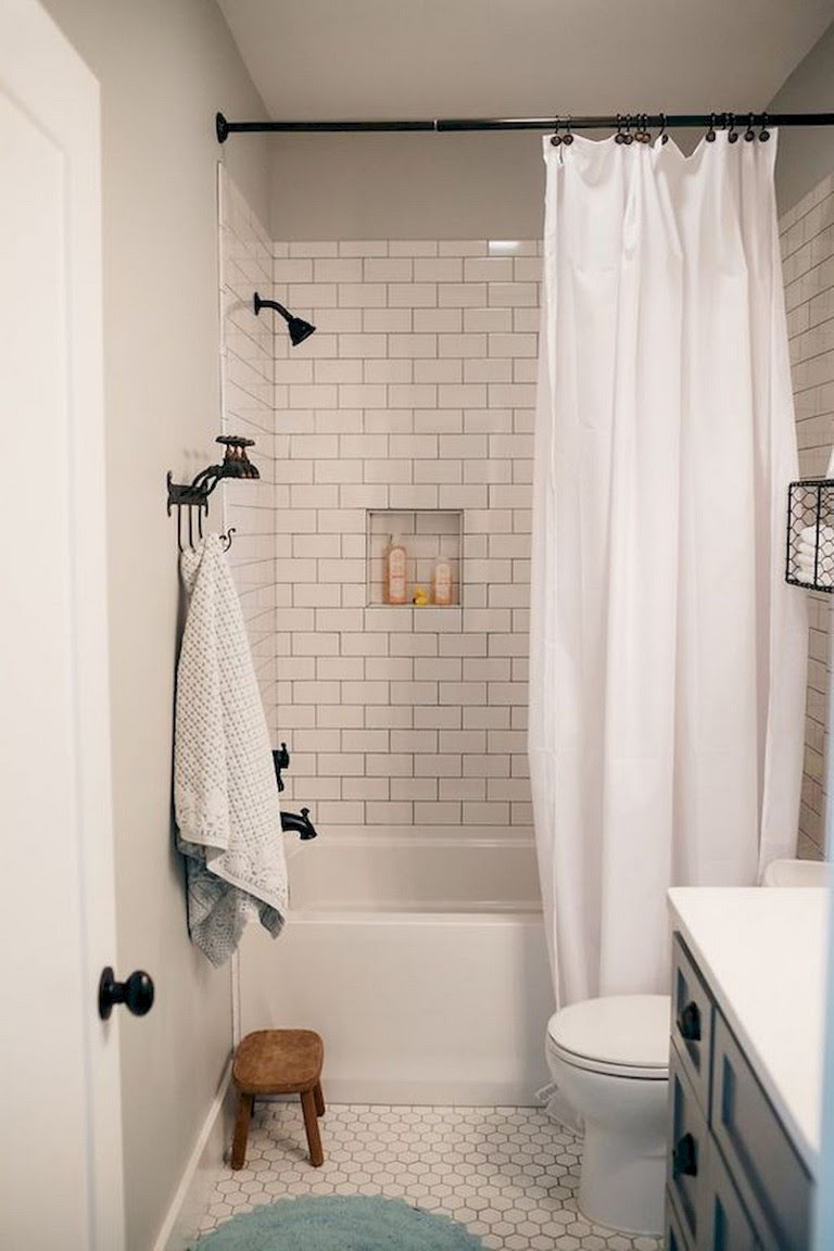 55 Beautiful Small Bathroom Ideas Remodel - Page 7 of 60