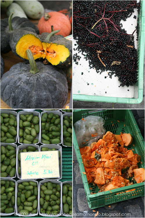 Zucca sambuco e kiwi