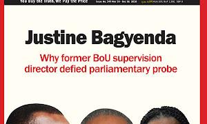 Why Bagyenda defied parliamentary probe