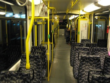 A train to ourselves.
