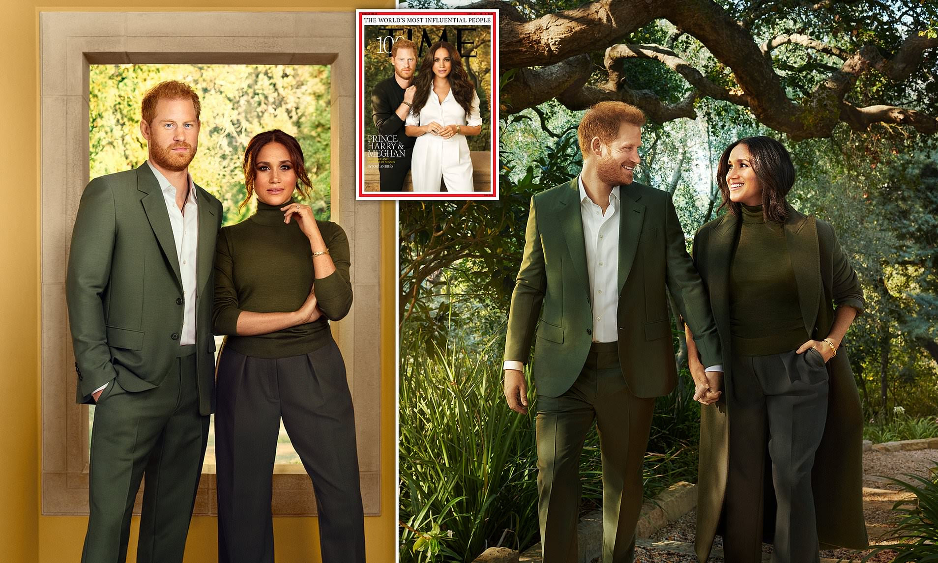 Prince Harry and Meghan Markle in Time's 'world's 100 most influential people'