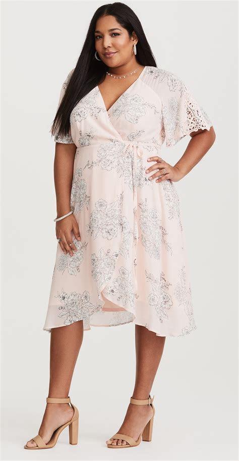 plus size wedding guest dress sleeves alexa webb 318 11