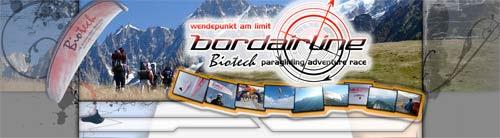 Biotech Bordairline paragliding adventure races