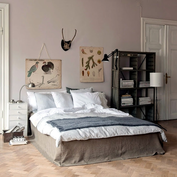 Pastel bedroom colors - 20 ideas for color schemes ...