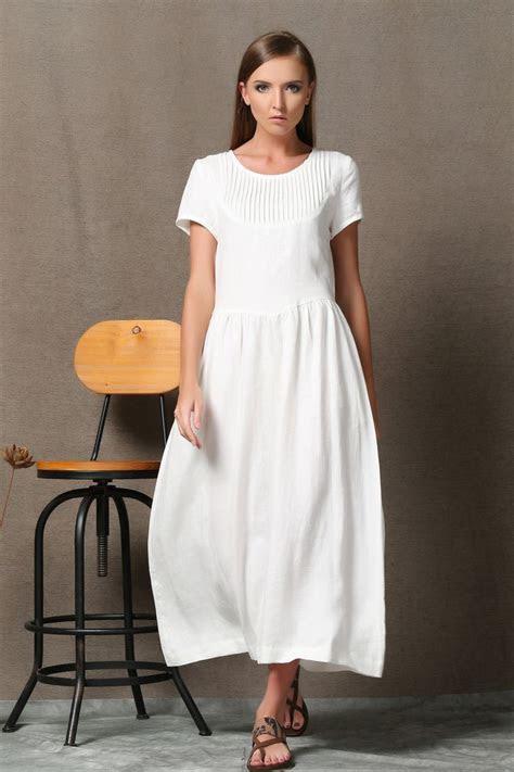 Best 25  White linen dresses ideas on Pinterest