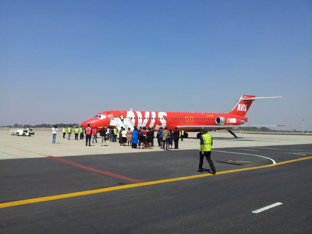 1Time at Harare Airport, Zimbabwe