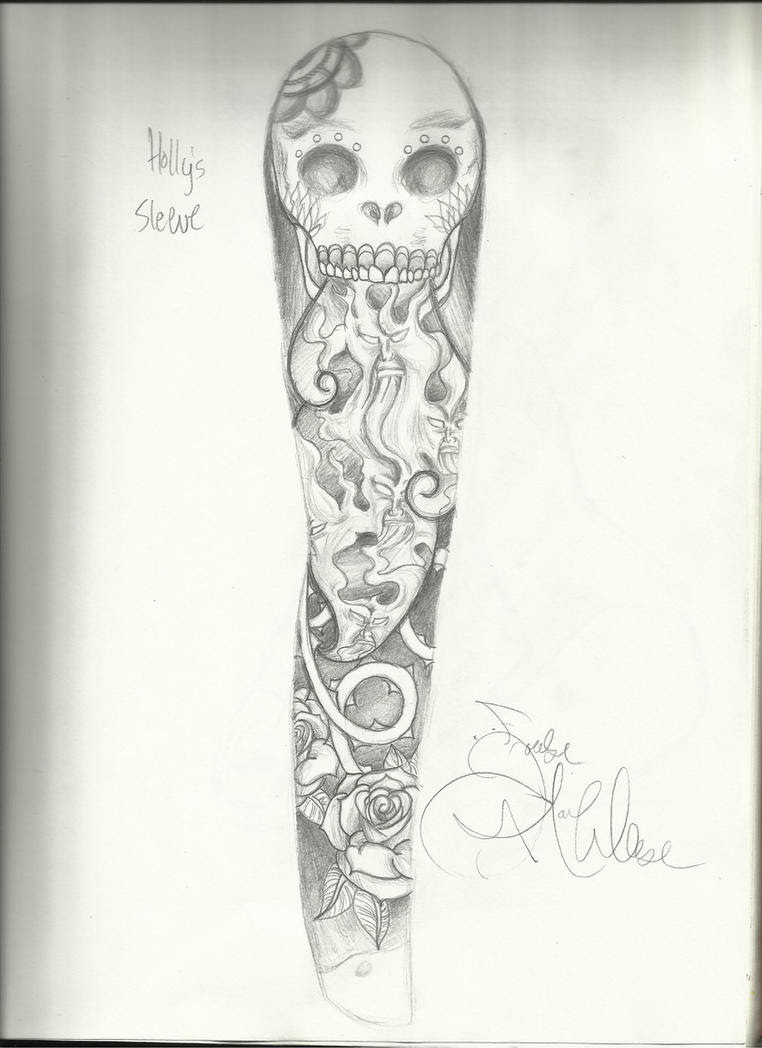 Tatos Me Sleeve Tattoo Drawings