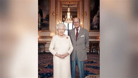 New photo released to mark 70th wedding anniversary of
