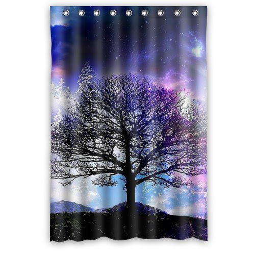 HAPPY LIVING: TREE OF LIFE SHOWER CURTAINS