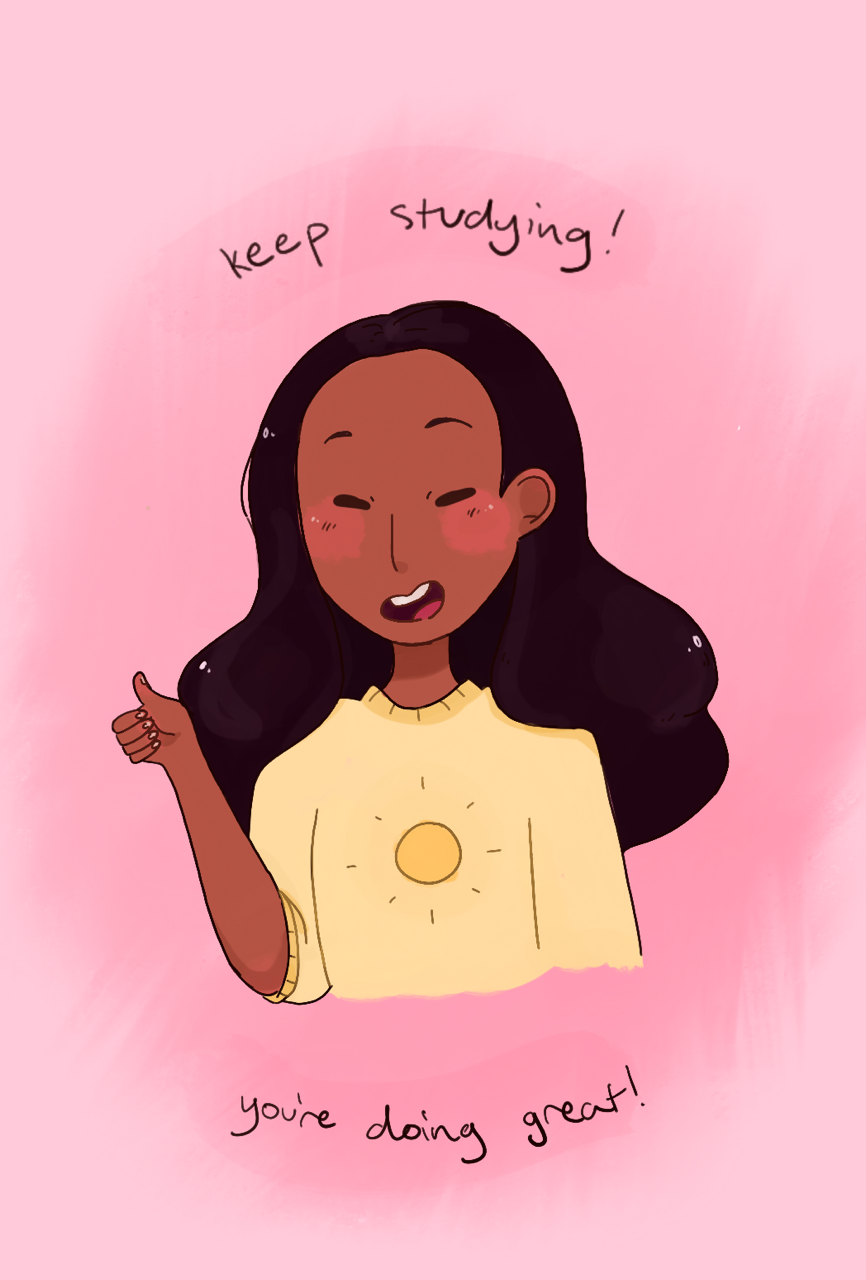 A positive Connie bc lots of people (including me haha) are having finals next week! If you've already had them, I'm sure you did awesome!! And if you still have them coming, make sure to keep working...