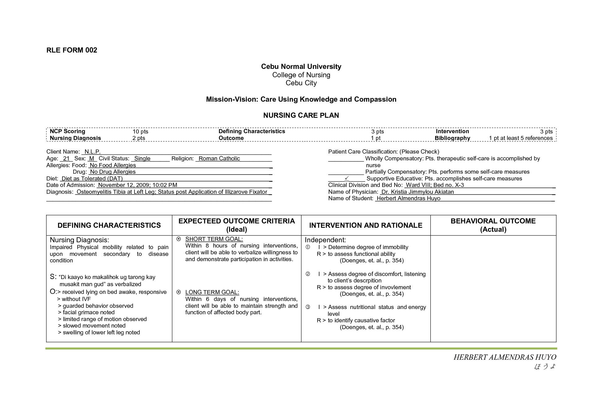 Respiratory Nanda Nursing Diagnosis | MedicineBTG.com ...