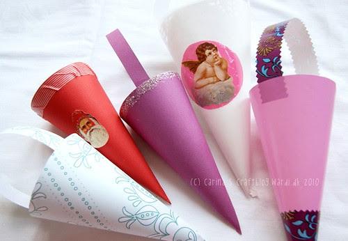 Different paper cones
