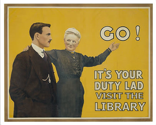 It's your duty to visit the library by Phil Bradley